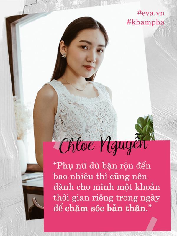 chloe nguyen - la phu nu, muon hanh phuc, nhat dinh phai biet cach de thay minh dep - 5