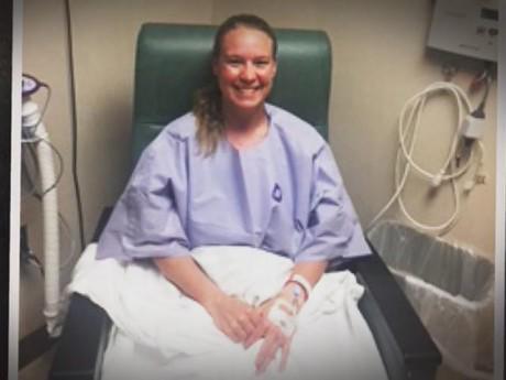 Không hút thuốc, nữ vận động viên choáng khi biết mắc ung thư phổi vì thứ tiềm ẩn trong nhà