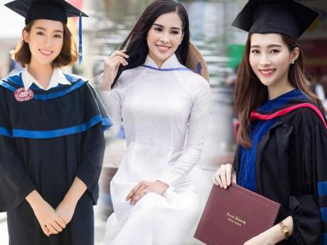 So sánh sức học các Hoa hậu: Tiểu Vy toàn điểm dưới 5, Ngọc Hân đứng thứ 3 toàn trường