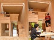 Độc đáo căn nhà gỗ 7m² của sinh viên có thể chuyển đi khắp nơi