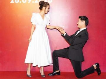 """Cầu hôn Hoàng Yến Chibi tại sự kiện, Quang Đăng nhiều lần quỳ gối trước """"vợ"""" mới"""