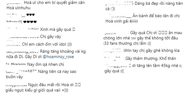 """dang anh khoe dang, fan lo lang nhan xet hoa minzy dang """"gay den tham thuong""""! - 3"""