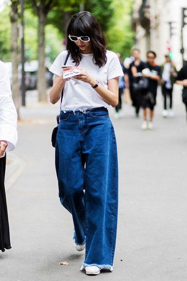 doi pho voi mua giong sai gon bang quan jeans, chi em can than keo hoa tham hoa thoi trang - 9