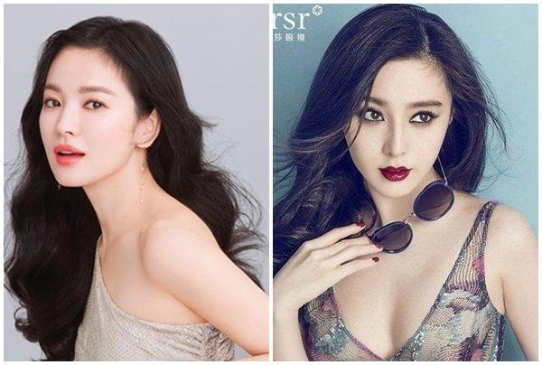 """pham bang bang - song hye kyo: su giong nhau ky la cua 2 """"chi dai"""" bang tuoi - 3"""