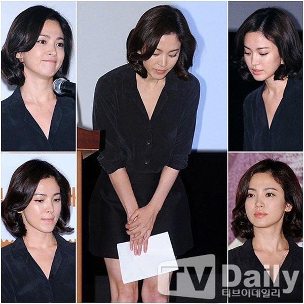"""pham bang bang - song hye kyo: su giong nhau ky la cua 2 """"chi dai"""" bang tuoi - 9"""