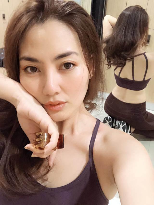 "ngoi makeup voi o le duong, ngoc lan van dep rang ngoi, dat chuan ""suong suong"" - 9"