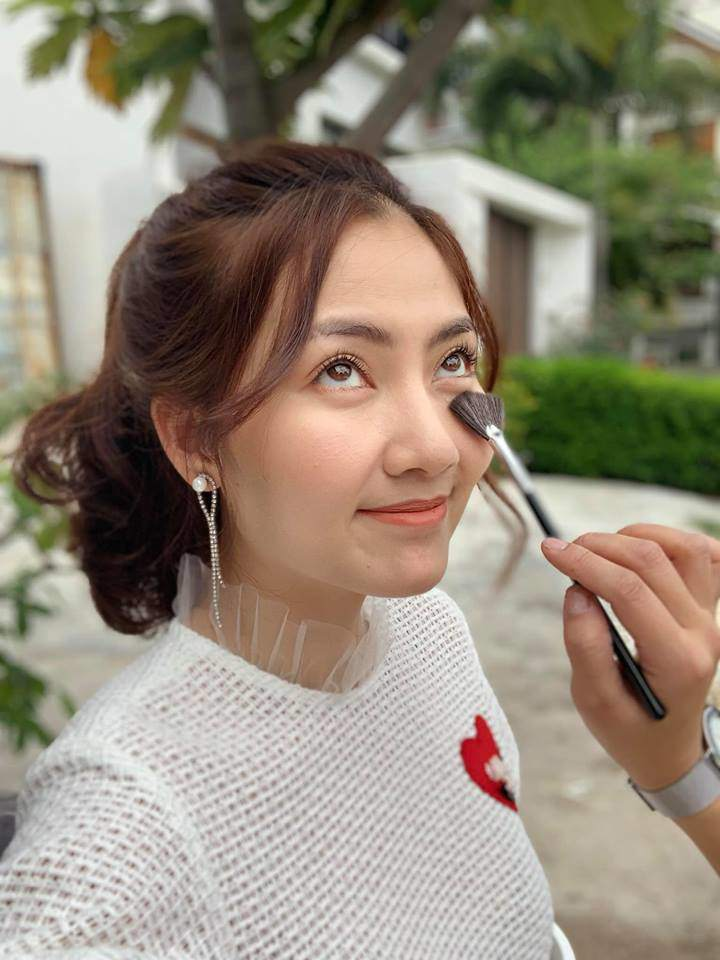 "ngoi makeup voi o le duong, ngoc lan van dep rang ngoi, dat chuan ""suong suong"" - 4"