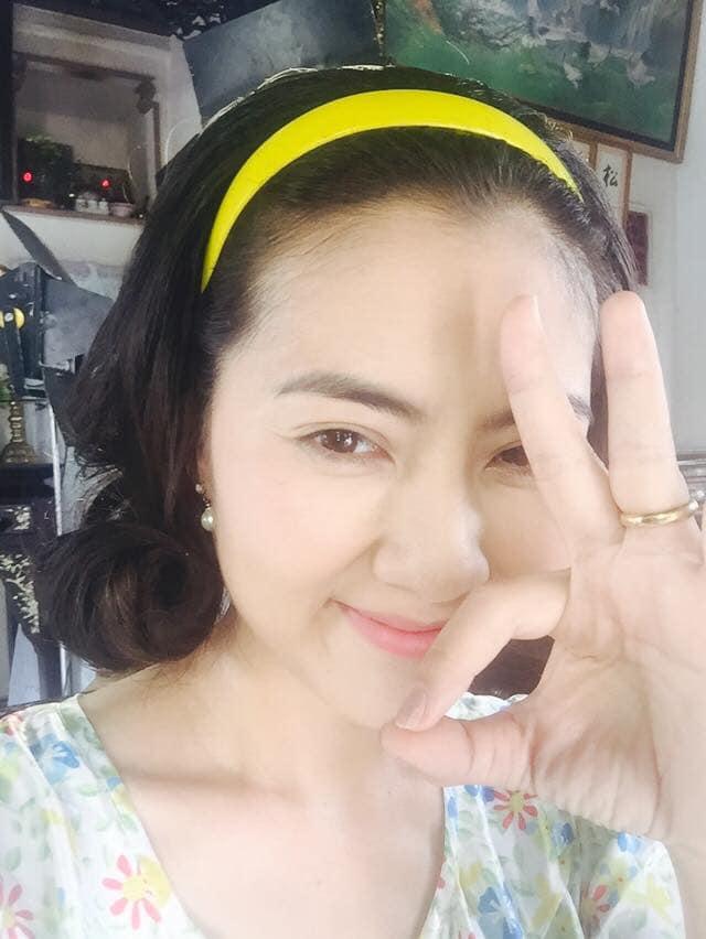 "ngoi makeup voi o le duong, ngoc lan van dep rang ngoi, dat chuan ""suong suong"" - 3"
