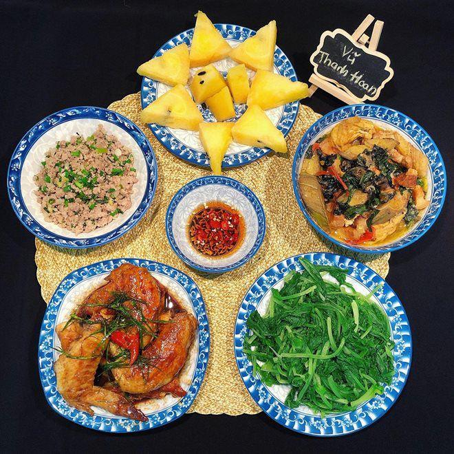 "9x dam dang khoe nhung mam com ""nau 1 bua an 2 lan"" khien chi em phat sot - 5"