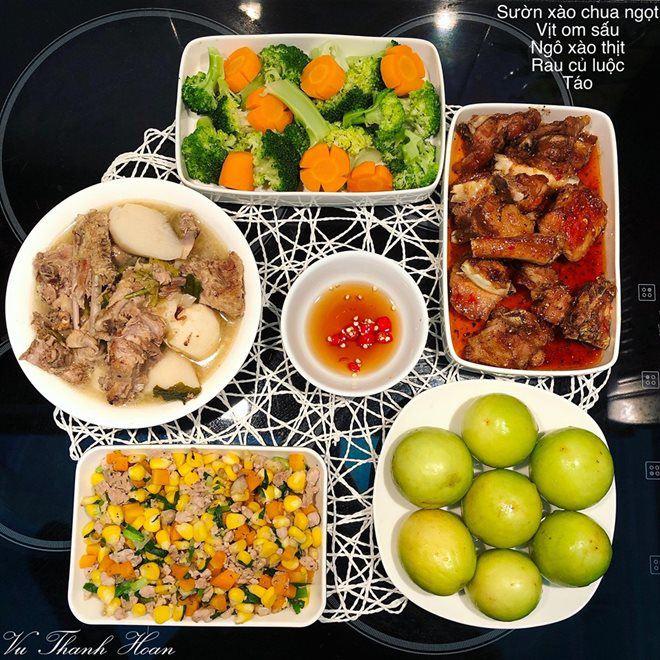 "9x dam dang khoe nhung mam com ""nau 1 bua an 2 lan"" khien chi em phat sot - 9"