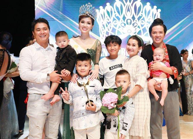 Hoa hậu đẻ nhiều con nhất showbiz Việt được bạn trai tặng biệt thự 100 tỷ