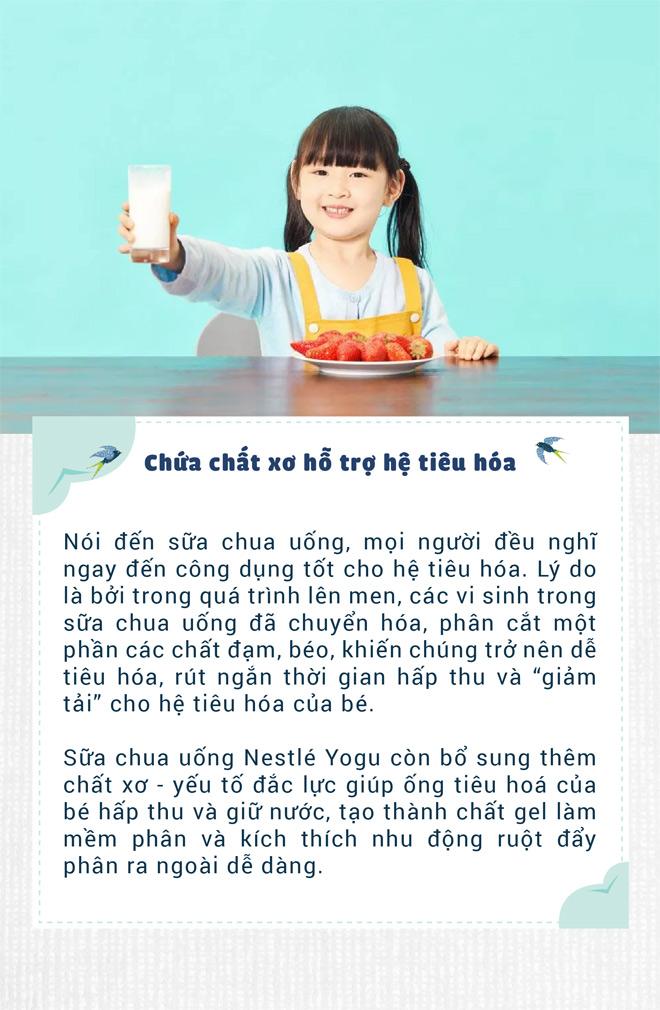 """Đổi vị cho bé với sữa chua uống có chứa tổ yến: Con thích mê, mẹ """"gật gù"""" tâm đắc"""