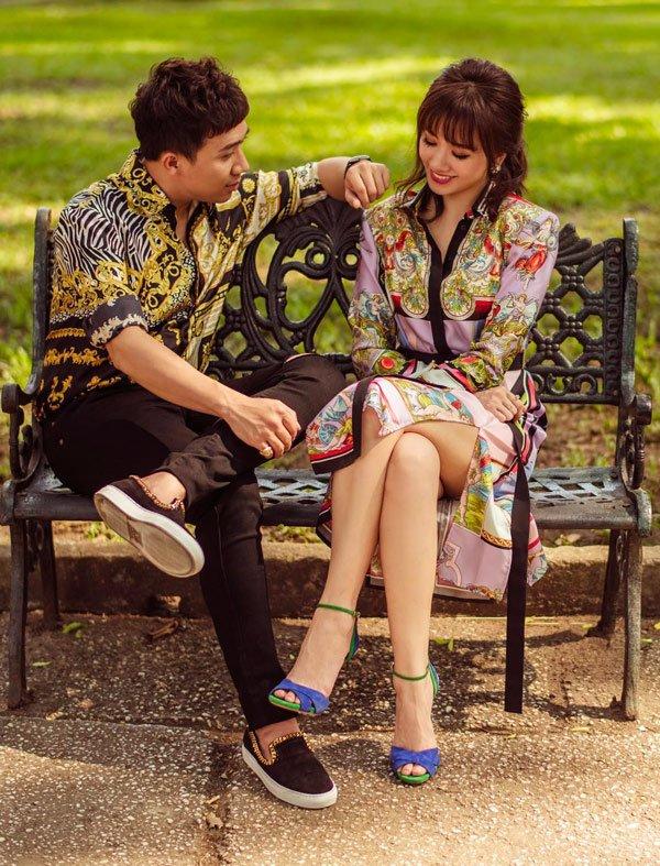 Mua nhiều giày đôi thế này, chắc Trấn Thành muốn cùng Hari Won đi khắp thế gian đây mà!
