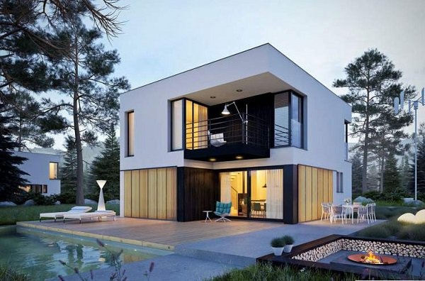 15 mẫu nhà 2 tầng hình vuông đẹp miễn chê, nhà đông người vẫn rộng thoải mái - 5