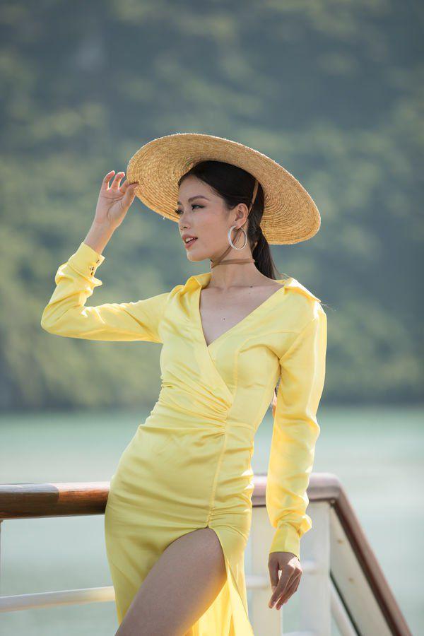 dung vay ao voi h'hen nie va huong giang, thi sinh miss world lieuco toa sang nhu dan chi? - 4