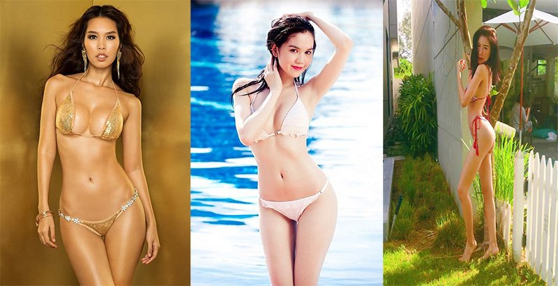 Mẫu bikini đẹp dẫn đầu xu hướng năm 2019 cực sexy và quyến rũ