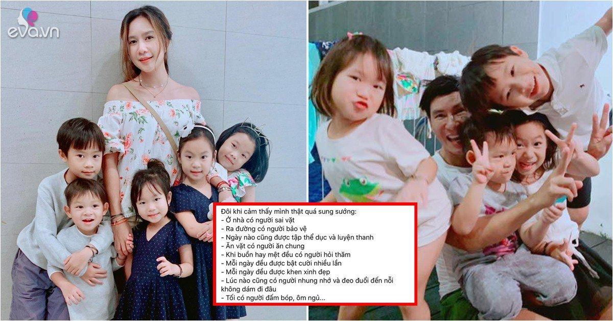 Sao Việt 24h: Một nách 4 con, vợ Lý Hải tiết lộ những cái sướng không phải ai cũng biết-Ngôi sao