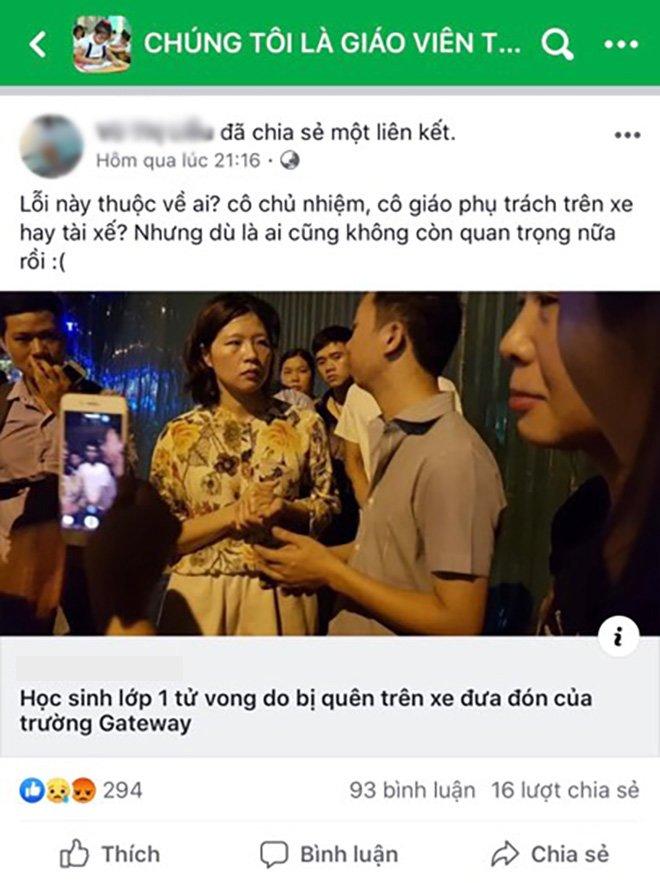 """vu hoc sinh truong gateway tu vong: """"theo toi, loi khong phai o he thong lien lac"""" - 1"""