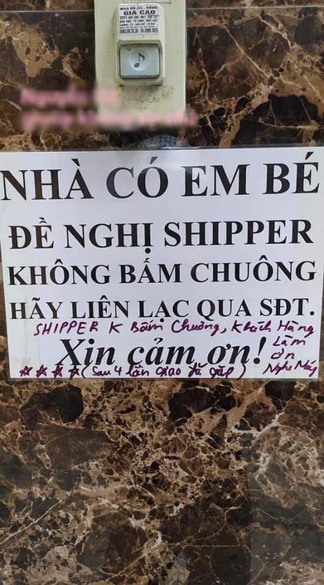 khong muon shipper bam chuong vi so phien con, nao ngo gap giao hang co tam de loi nhan hai - 1