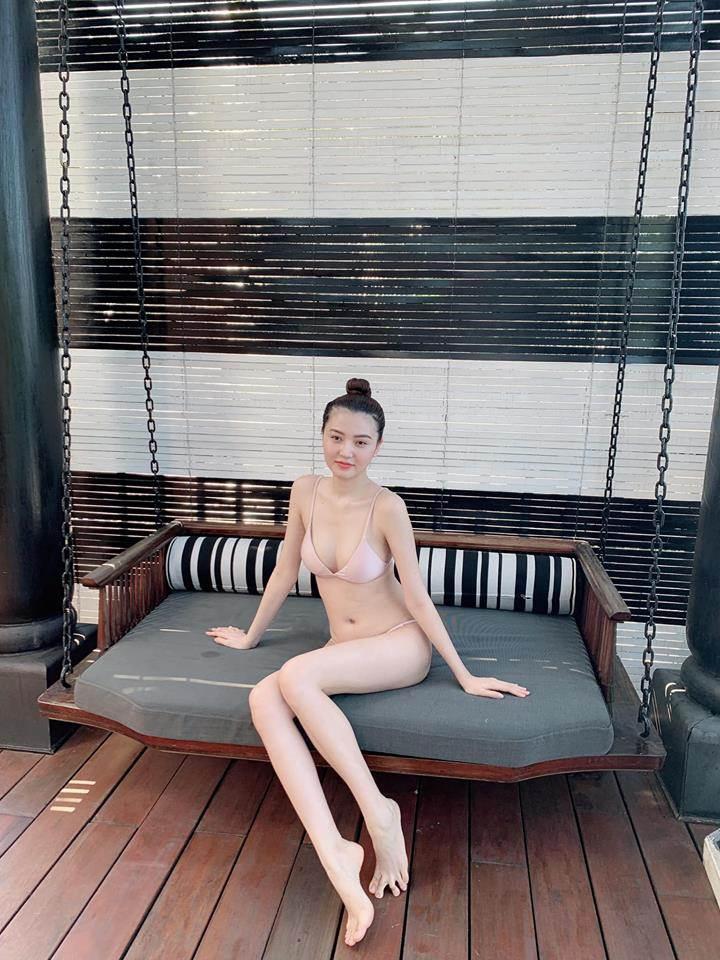 khi vo cac ong chong dai gia khoe dang voi bikini, dam thu trang van xep sau my nhan nay - 14