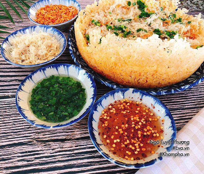 cach lam com chay day ngoi gion tan cham mam chung khien ai cung them chay nuoc mieng - 3