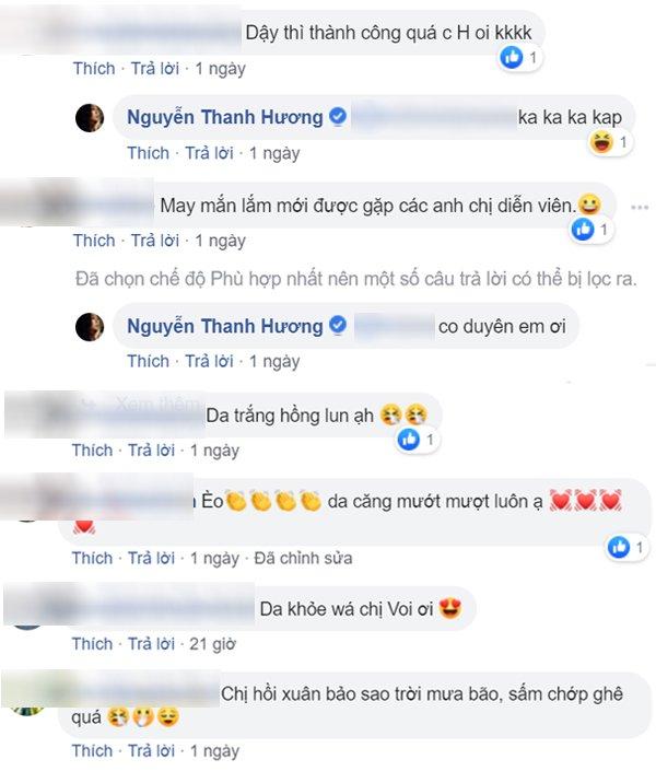 Không dùng ứng dụng sống ảo khi selfie, làn da ở tuổi 31 của Thanh Hương khiến fan ngỡ ngàng - 4