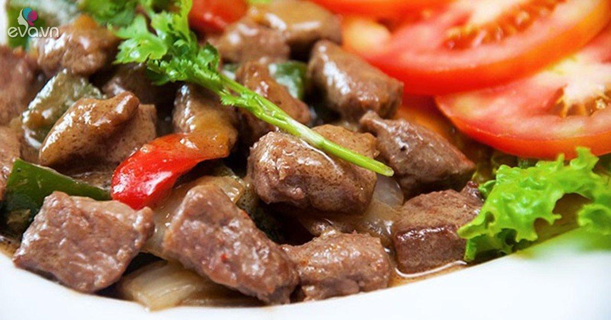 Ăn nhiều thịt bò hại khủng khiếp thế này, biết để điều chỉnh nhanh còn kịp