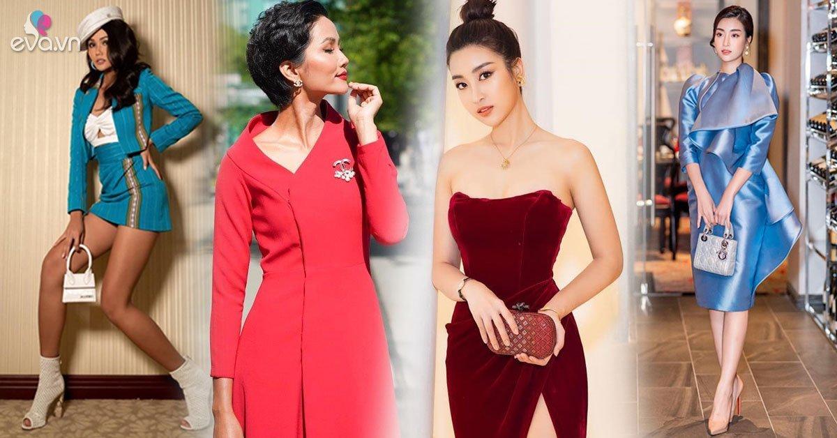 Thoát mác Hoa hậu nghèo nhất Việt Nam, Mỹ Linh và H''Hen Niê ngày càng chăm diện hàng hiệu