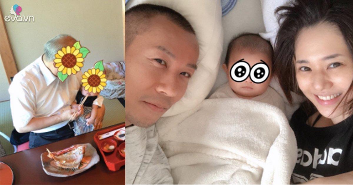 Làm dâu, có thai sau 15 năm phim nóng, Aoi Sora lộ cảnh bỉm sữa với mẹ chồng và bố
