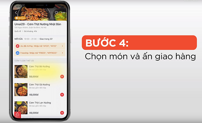 """bua an 0d"" tu nowfood chi co tai ung dung shopee, ban da biet chua? - 4"