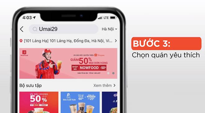 """bua an 0d"" tu nowfood chi co tai ung dung shopee, ban da biet chua? - 3"