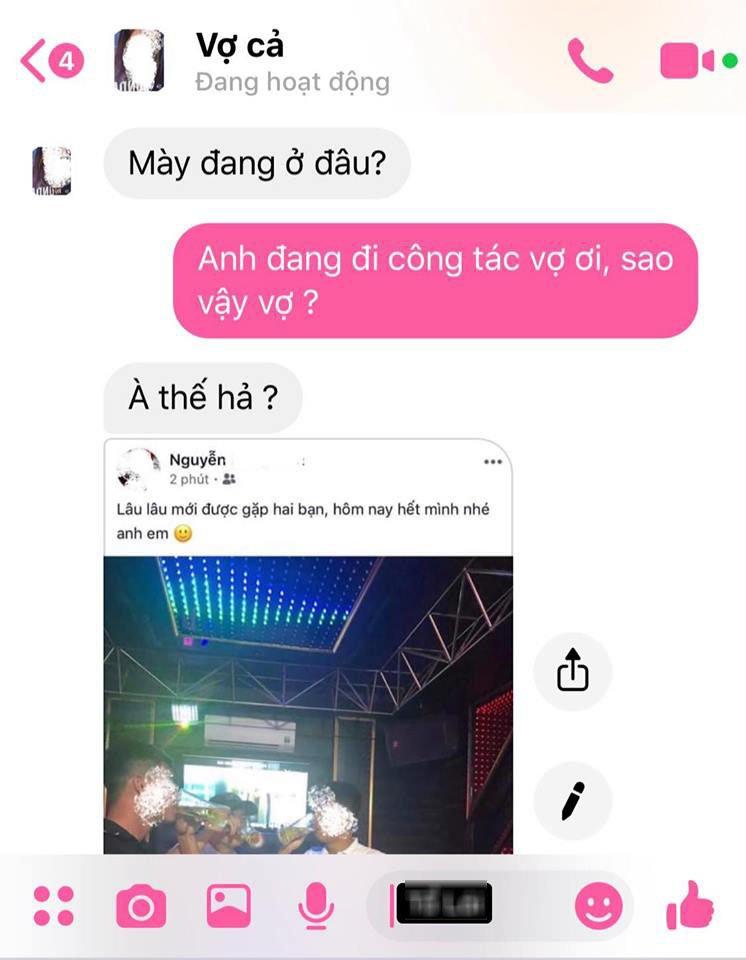 "chong noi di cong tac xa, vo phat hien ngay dau vet ""gai nganh"" khien chi em than phuc - 1"