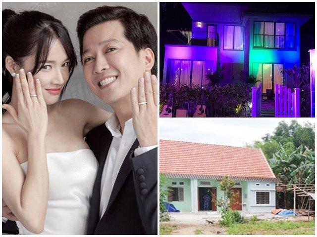 Nhã Phương lấy chồng ở biệt thự khủng 15 tỷ, còn đây là nhà của bố mẹ cô ở quê