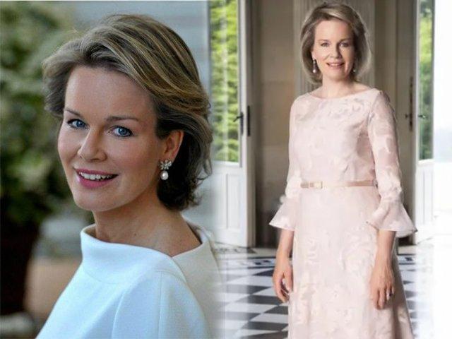 Hoàng hậu Bỉ được truyền thông khen ngợi hết lời vì sắc vóc quá đỗi trẻ trung ở tuổi 46