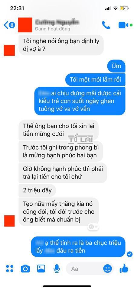 "muon ly hon vi vo hay ghen, ong chong ""tat"" voi y tuong khi nhan dong tin nhan - 3"