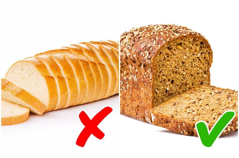 Bánh mì ngũ cốc nguyên hạt có thể là một lựa chọn tốt.Hơn nữa, các nghiên cứu đãchỉ rarằng tiêu thụ hàng ngày loại bánh mì này làm giảm nguy cơ phát triển các bệnh được đề cập ở trên.
