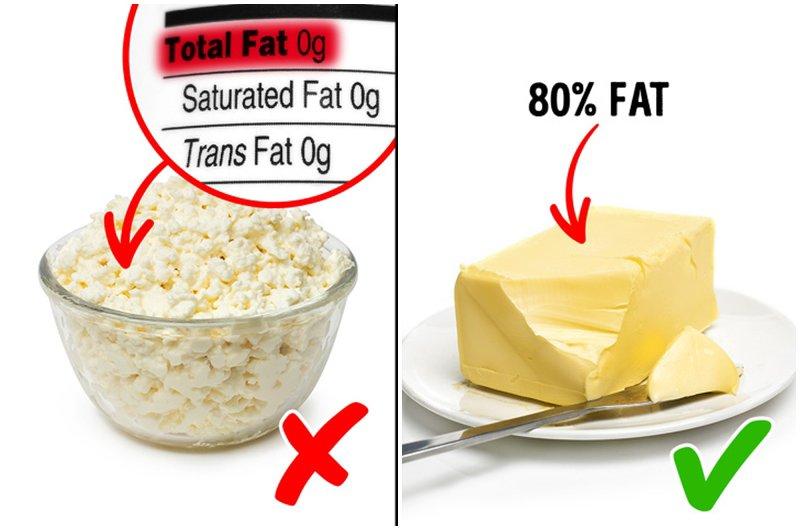 Chế độ ăn không có chất béo từng là một chế độ ăn được nhiều người làm theo.Cho đến khi các chuyên gia dinh dưỡng nhận ra rằng các nhà sản xuất bắt đầu thay thế chất béo lành mạnh bằngđường chế biếnđể duy trì hương vị tự nhiên của sản phẩm.