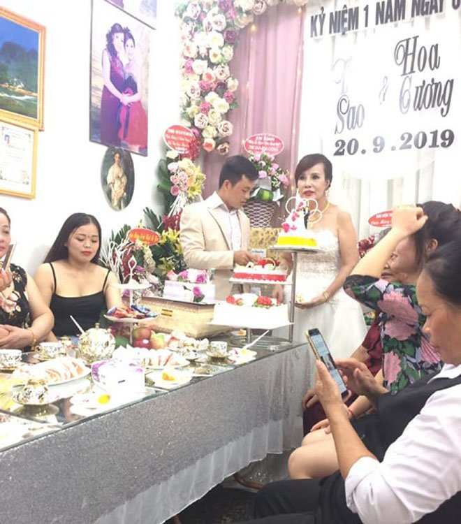 "tin tuc 24h: co dau 62 tuoi phan ung bat ngo khi dan mang chi trich ""dung chong nhu pha"" - 1"