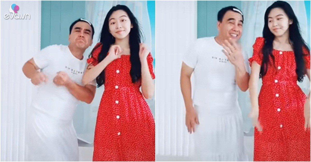 Chiều con như Quyền Linh, chịu mặc váy, kẹp tóc mái...