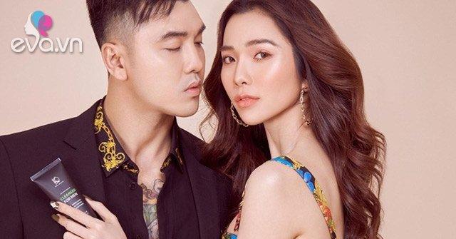 Vợ chồng ca sĩ Ưng Hoàng Phúc - siêu mẫu Kim Cương ra mắt thương hiệu mỹ phẩm riêng