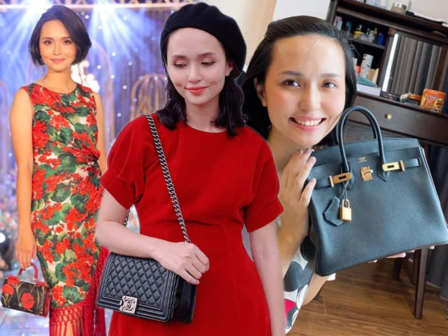 Chị gái công chúa béo Quỳnh Anh ăn mặc sang chảnh, túi Hermes nhiều hơn cả em gái
