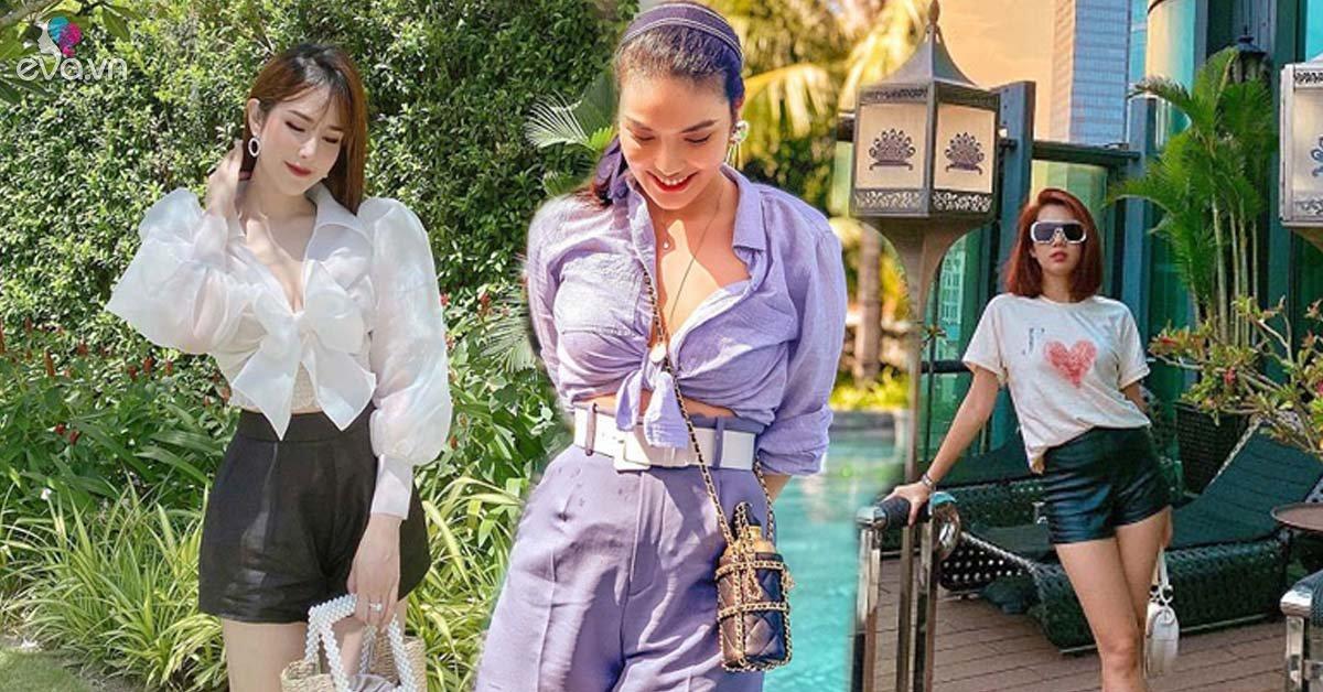 Nhìn dàn mỹ nhân Việt diện quần short ngày hè, nàng học được khối công thức phối đồ hay ho