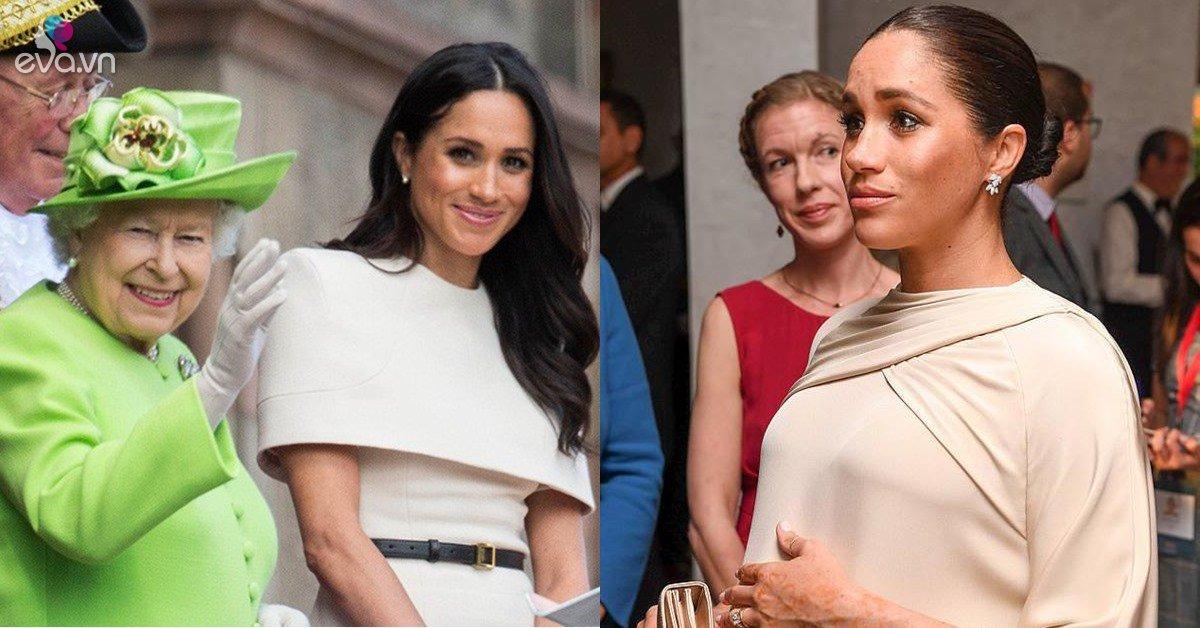 Nữ hoàng Anh bị fan của Meghan mắng nhẫn tâm vì không bảo vệ cháu dâu lúc cô có bầu