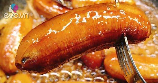 Ăn mãi không hết chuối, học 9X đem ngào đường thế này, 9 người ăn 10 người khen nức nở