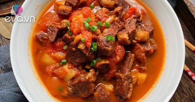 Thịt bò nấu kiểu này người già, trẻ nhỏ đều thích vì quá mềm, ngon