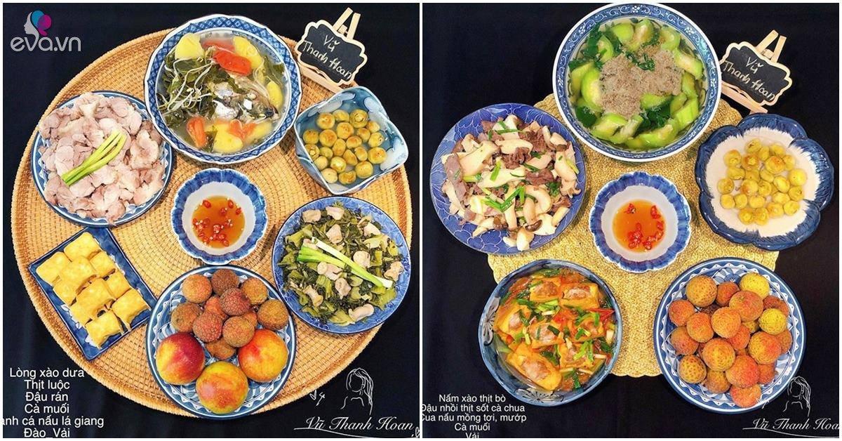 Gợi ý thực đơn cho cả tuần nắng nóng, bữa nào cũng dễ ăn, ai thấy đều thèm