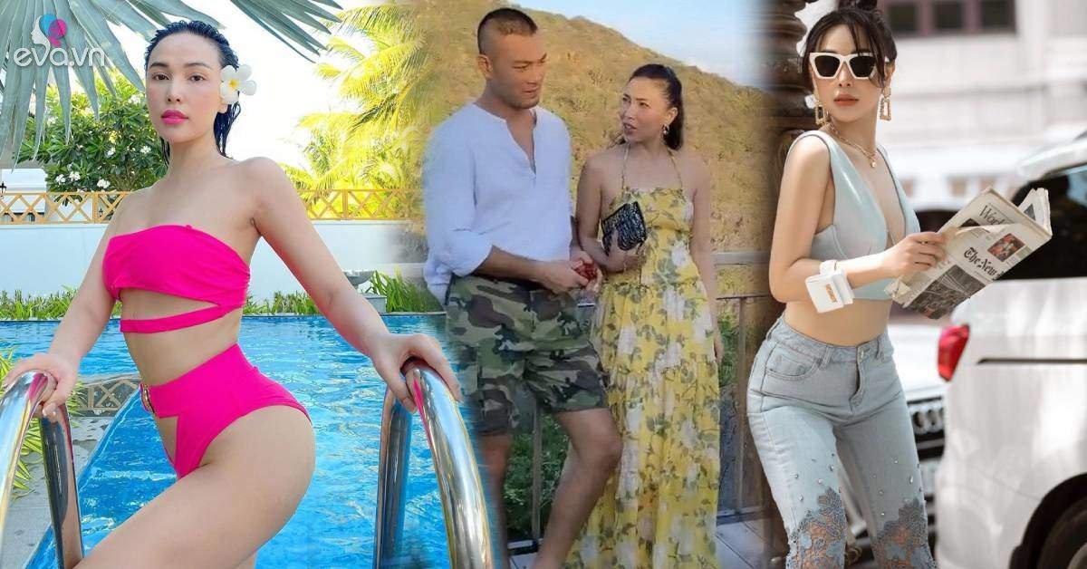 Nhan sắc không phải dạng vừa, body bốc lửa của chân dài nghi hẹn hò với chồng cũ Quỳnh Nga