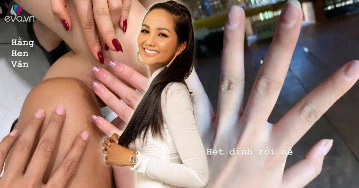 Hội chị em Hoa hậu khoe nails lấp lánh nhưng móng tay của H''Hen Niê là khác biệt nhất