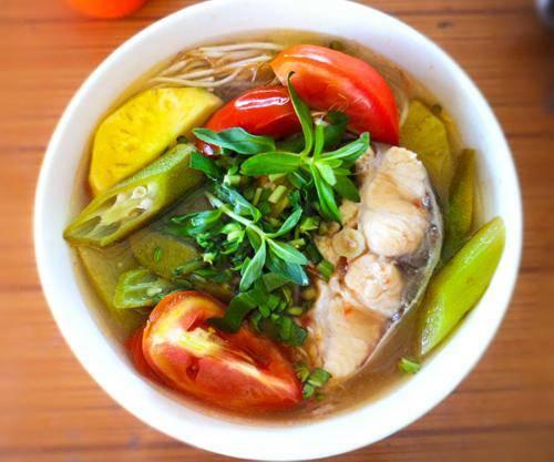 "5 mon canh chua du nang nong may cung khien noi com het ""veo veo"" - 1"