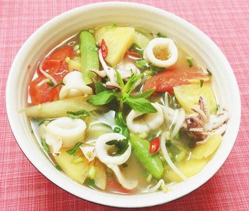 "5 mon canh chua du nang nong may cung khien noi com het ""veo veo"" - 3"